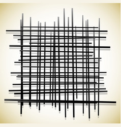 Abstract lines pattern randomly placed vector