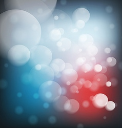 Christmas background with lights image vector image