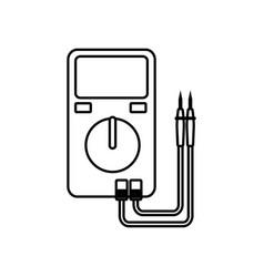 Electrical test meter vector