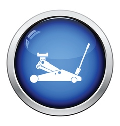 Hydraulic jack icon vector image
