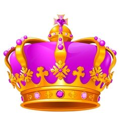 Magic crown vector