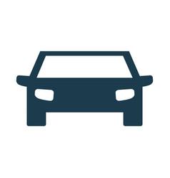 pictogram car icon vector image