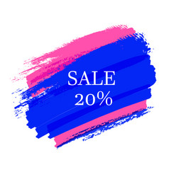 Sale-blue-pink vector