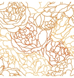 Seamless texture with flowers roses vector