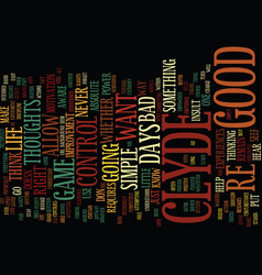 The power text background word cloud concept vector