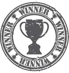 Winner Stamp vector