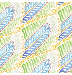 Seamless watercolor background pattern vector image vector image
