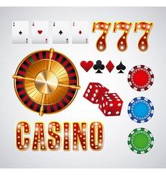 casino gambling concept vector image