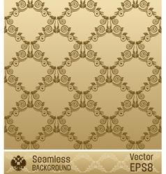 wallpaper ornament vintage vector image