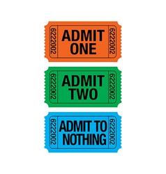 Admit to nothing vector image