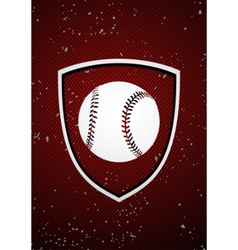 Baseball badge vector