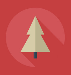 flat modern design with shadow icons christmas vector image