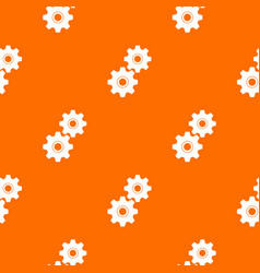 gear pattern seamless vector image