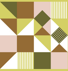 geometric seamless pattern for use as wrapping vector image