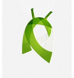 Green leaf concept vector image