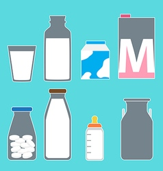 milk01 vector image