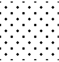 Seamless black and white diagonal rounded square vector