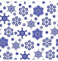 snowfall pattern vector image