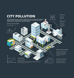 urban infographic business concept people vector image