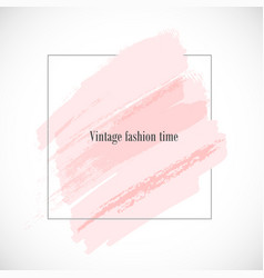 Vintage-fashion-time vector