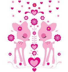 Bambi vector image