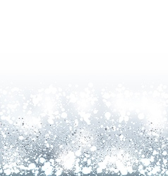 Shimmering Winter Background vector image vector image