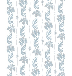 blue flowers-seamless vector image