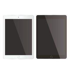 Tablet mock up vector image