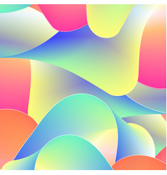 abstract background from colored stripes vector image