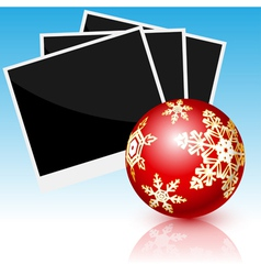 card christmas vector image