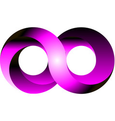 infinity icon symbol design vector image