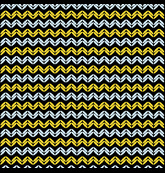 Knitted weave horizontal lines seamless vector