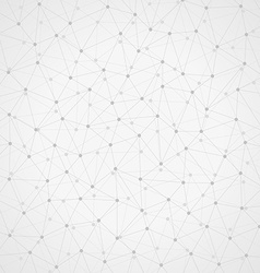 Messy connected dots vector