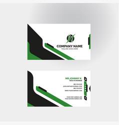 Modern business card templates design vector