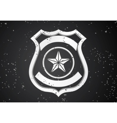 security badge vector image
