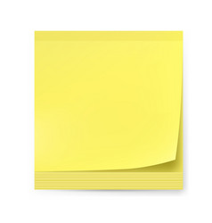 yellow sticker on white background for creative vector image