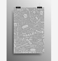 Sale background discount banner black friday vector