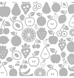 Fruit a background vector image