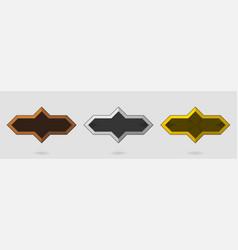 game design icons achievements symbols vector image