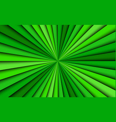 green abstract background four shades vector image