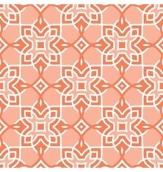 Peach seamless pattern arabic vector