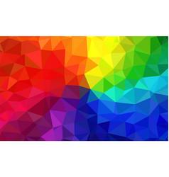 polygon multicolor background vector image