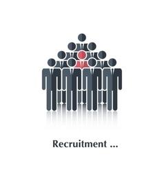 Recruitment vector