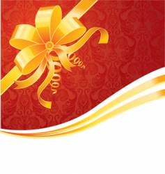 ribbon wrapping vector image