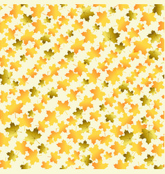 seamless pattern with oblique lines of orange mapl vector image