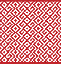 Slavic ornament seamless pattern vector