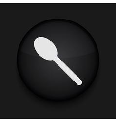 Teaspoon icon Eps10 Easy to edit vector