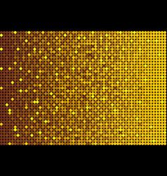 the banner gold sequins glitter sparkle back vector image
