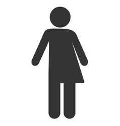 Third gender flat icon vector