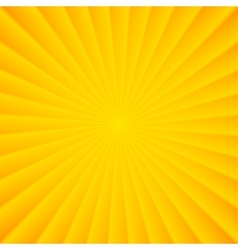 Yellow rays carnival background vector